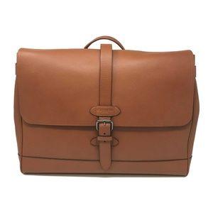 Coach Men's Hudson Messenger Bag In Saddle Leather